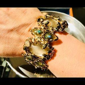 NWOT Alexis Bittar Lucite Clamp Bracelet